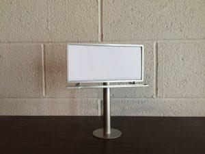 Mini Desktop Billboard