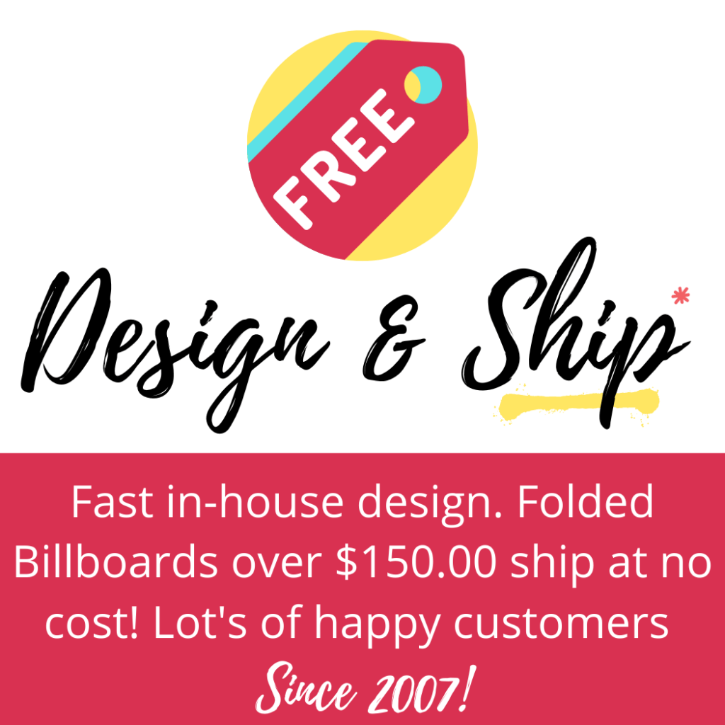 FREE DESIGN & SHIP