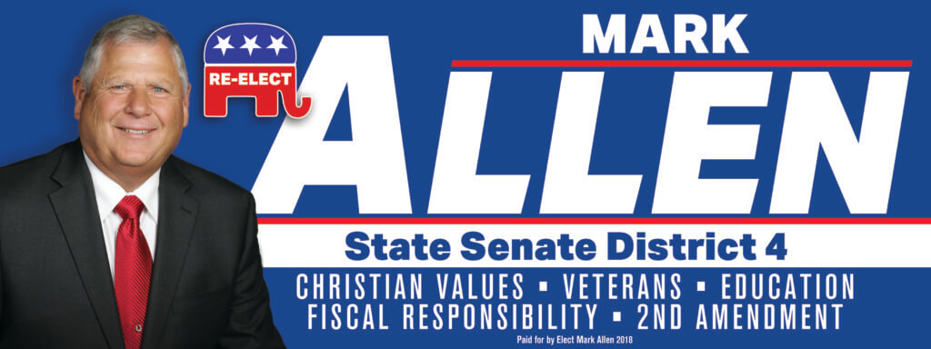 12x32 ReElect Mark Allen_LINDMARK