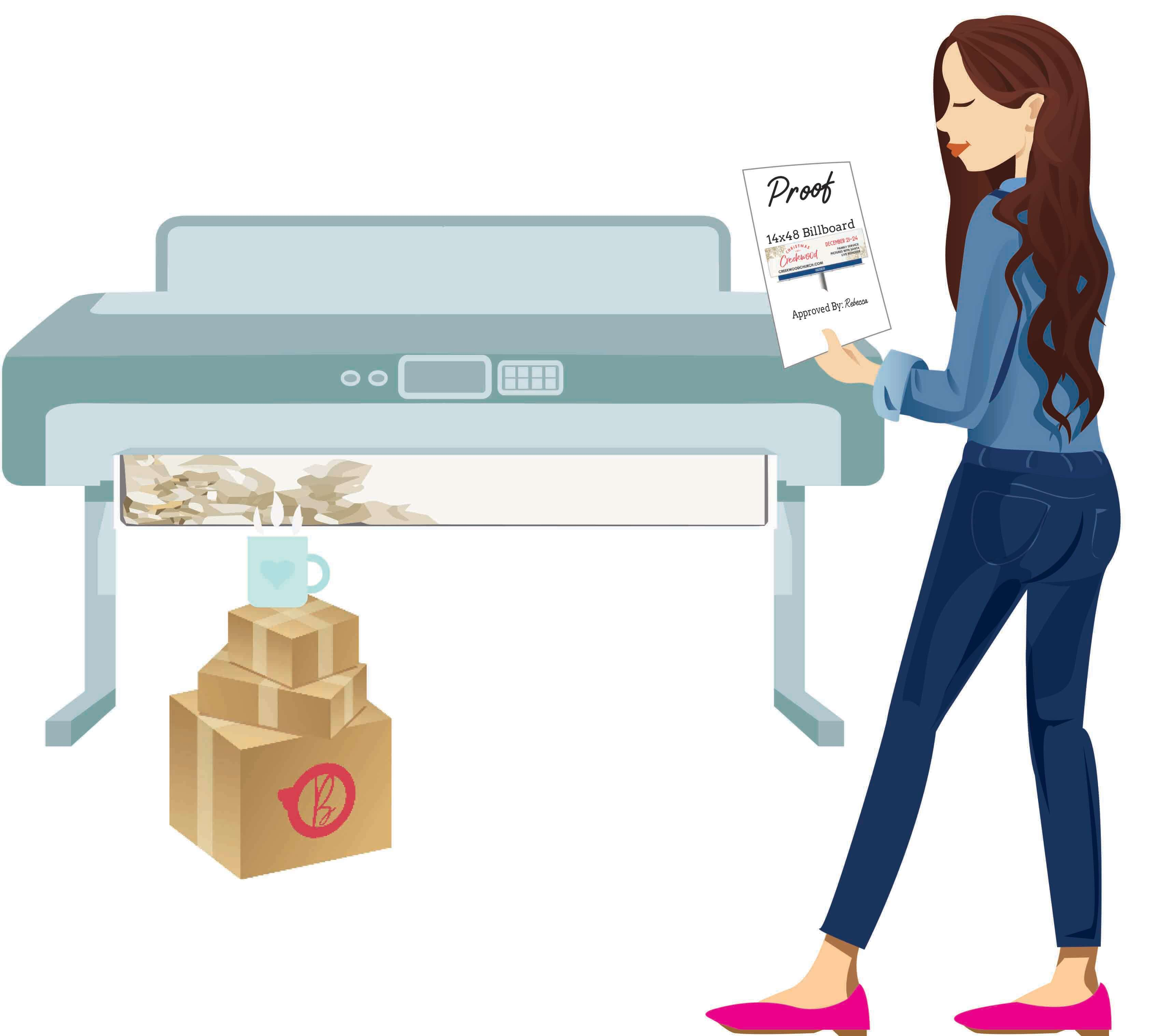 Printer Girl