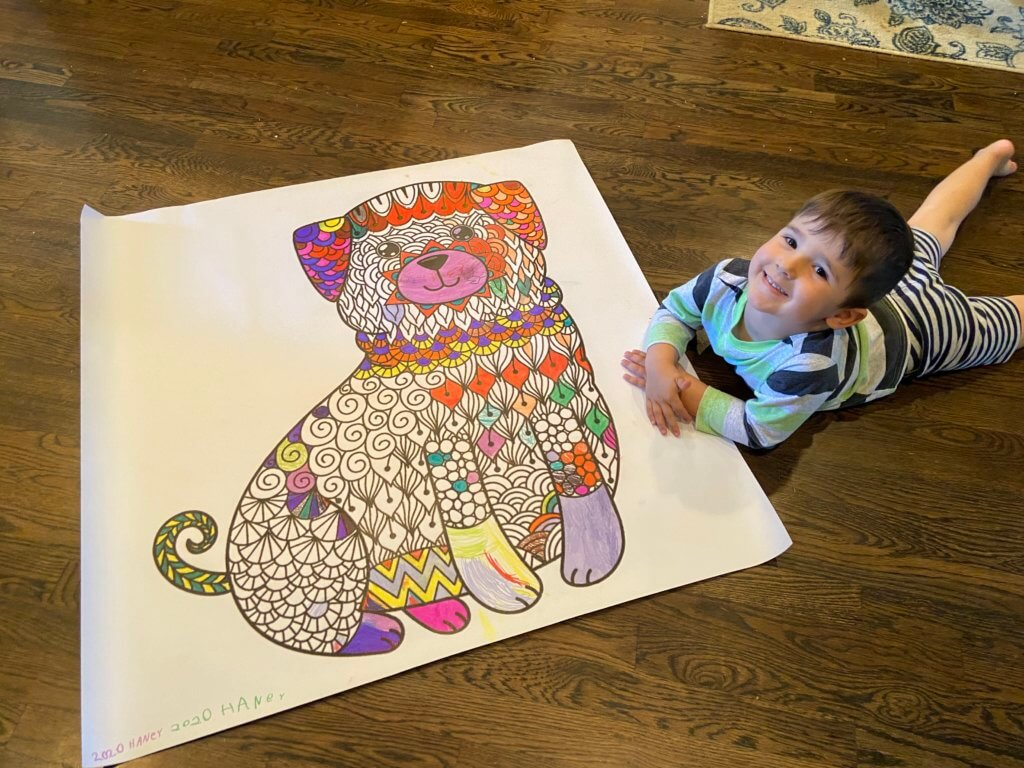 Large Coloring