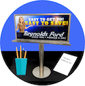 Mini Billboards<br><sub> For your Desktop</sub>